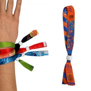 BRACELET INVIOLABLE EN SATIN - SUBLIMATION 2 FACES